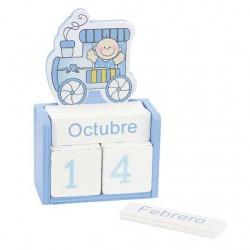 Calendario bebe azul