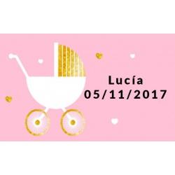tarjetas original invitado bebés
