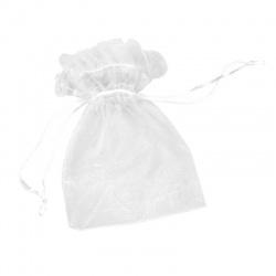 Bolsa de organza para regalos 12x16 cm.