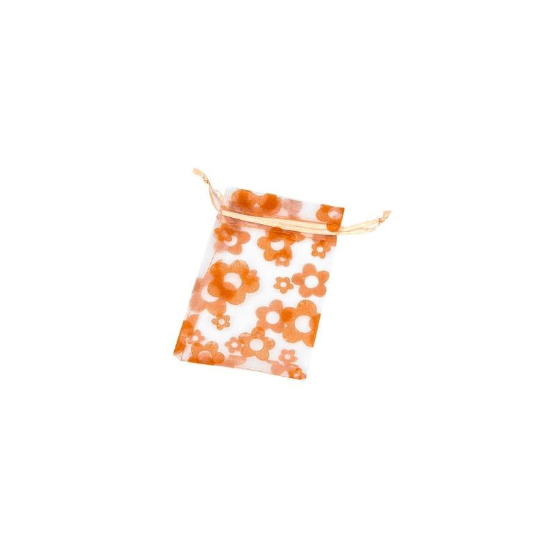 Bolsas de organza color naranja regalos boda