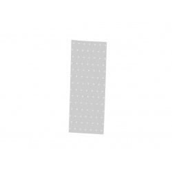 BOLSA DE CELOFAN CON LUNARES PLATA 9x32 cm. (Paq. 100 Unds.)
