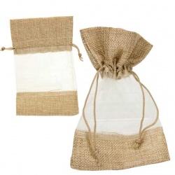 Bolsa de saco marron