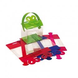 Cajas acetato varios colores para regalos