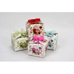 Cajas regalo flores lazos 5 modelos