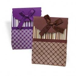 Cajas de rayas para regalos