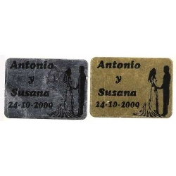 Etiqueta Adhesiva Personalizada: Oro o Plata