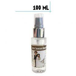 Bote de spray con Gel Hidroalcohólico 100ml con pegatina de boda