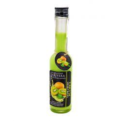 Botellita de licor de crema de Kiwi, botella Sorgente 200 ml